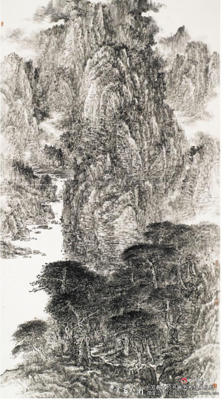 蔡亮 清籁 200cm×98cm 2010年