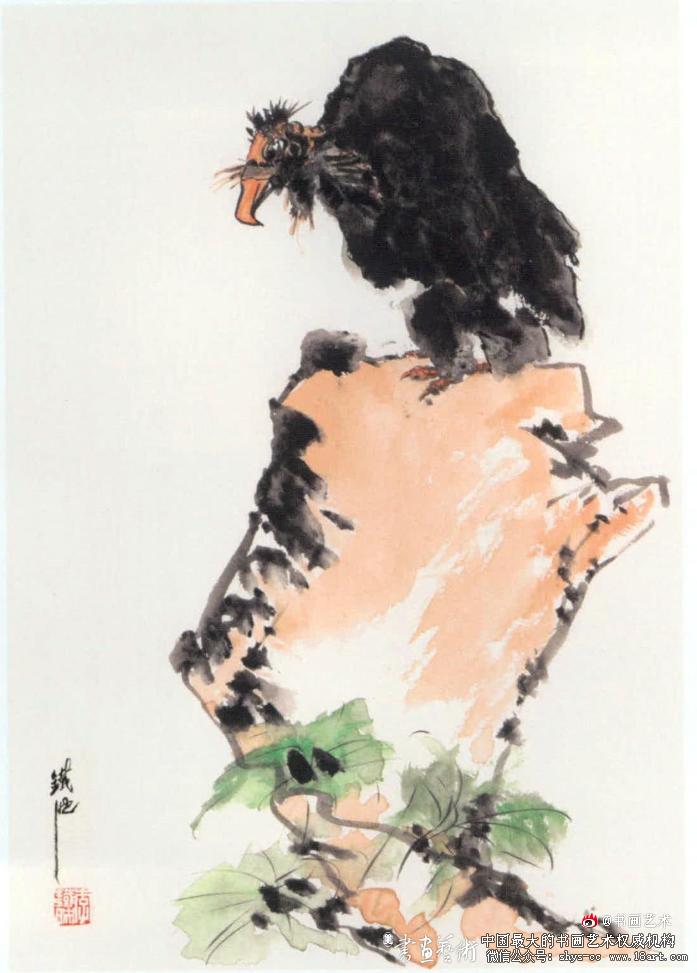 李铁映 老者 33cm × 23cm