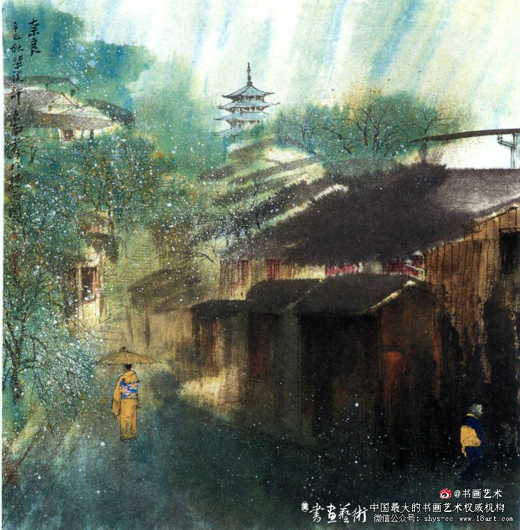 许惠南 奈良 68cm x 68cm