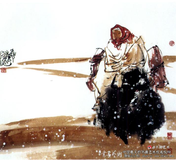 王伯勋 高原 60cm x 65cm 2011年