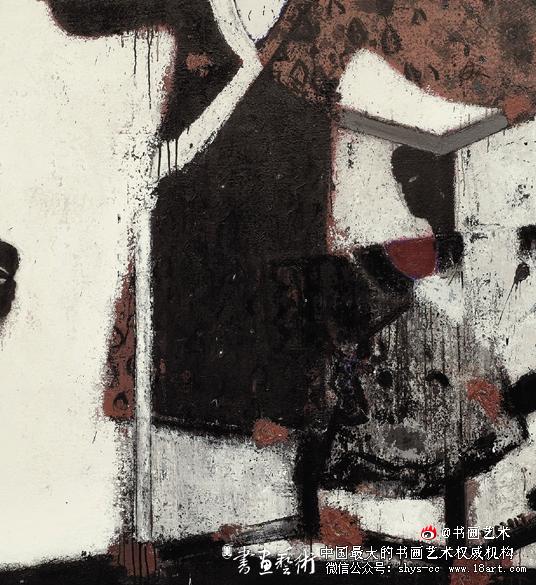 廖有才(广西) 物语 150×140cm 油画(第六届全国青年美术作品展作品)