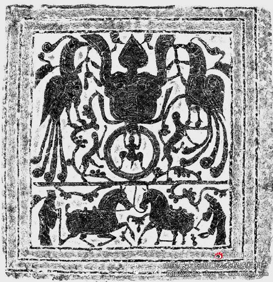 滕州龙阳店画像 100×99cm 山东博物馆