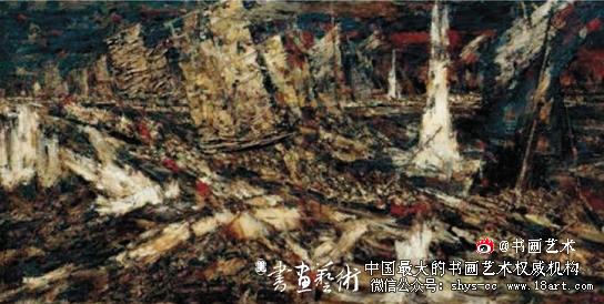 陈树东 百万雄师过大江 245×480cm 2009年